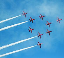 1. Red Arrows at Llandudno by Stuart Giblin