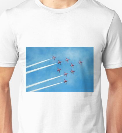 1. Red Arrows at Llandudno Unisex T-Shirt