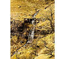 Run Off on North Moor Photographic Print