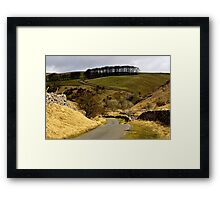 Coverdale Country Road Framed Print
