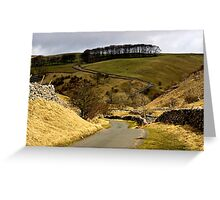 Coverdale Country Road Greeting Card