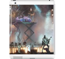 KISS live at Download 2015 iPad Case/Skin