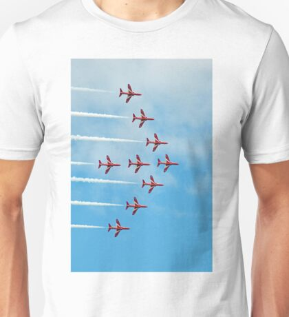2. Red Arrows at Llandudno Unisex T-Shirt