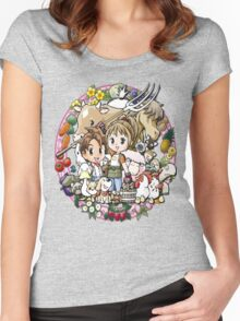 Harvest Moon Women's Fitted Scoop T-Shirt