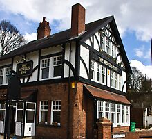 The Worlds End Pub - Knaresborough. by Trevor Kersley