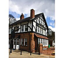 The Worlds End Pub - Knaresborough. Photographic Print
