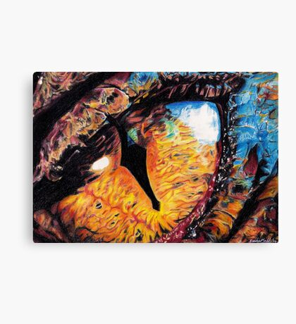 Smaug's Eye Canvas Print