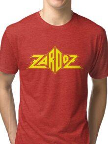 Zardoz Yellow Tri-blend T-Shirt