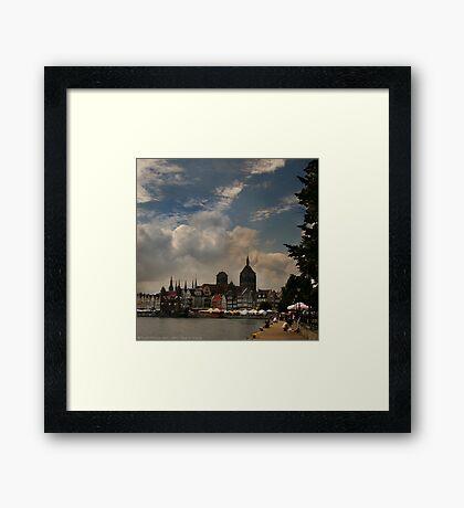 View of Gdansk Framed Print