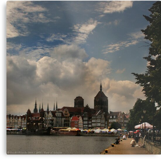 View of Gdansk by Eric Strijbos