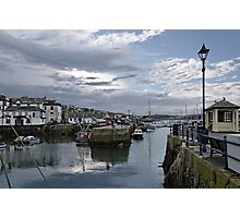 Evening at Custom House Quay, Falmouth Photographic Print