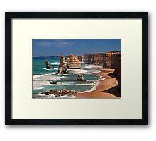 12 Apostles, Australia Framed Print
