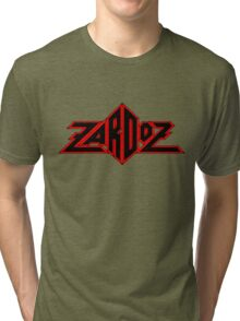 Zardoz Black Red Tri-blend T-Shirt