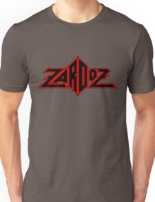 Zardoz Black Red Unisex T-Shirt