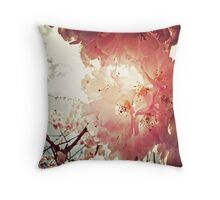 _ spring has sprung _ Throw Pillow