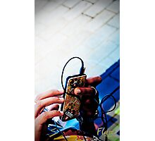 The world at my fingertips Photographic Print