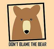 DON'T BLAME THE GRIZZLY BEAR by Jean Gregory  Evans