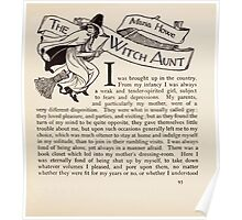 Mrs Leicester's School Charles & Mary Lamb with Minifred Green 18xx 0135 The Witch Aunt Poster
