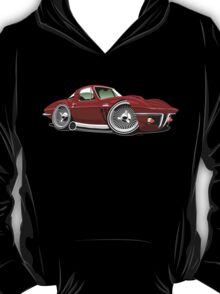 Chevrolet Corvette Stingray C2 caricature red T-Shirt