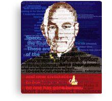 Captain Jean Luc Picard Canvas Print