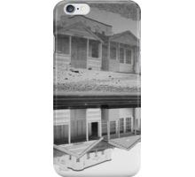 Reflecting on time spent at the seaside iPhone Case/Skin