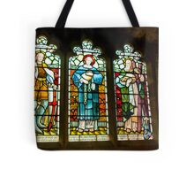 Hubberholme Church Window #2 Tote Bag