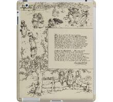 Kate Greenaway Collection 1905 0259 Home Beauty iPad Case/Skin