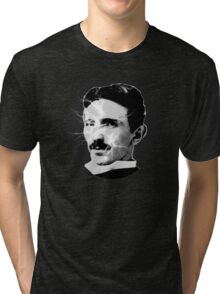 Tesla - Electricity Tri-blend T-Shirt