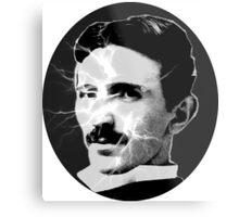 Tesla - Electricity Metal Print