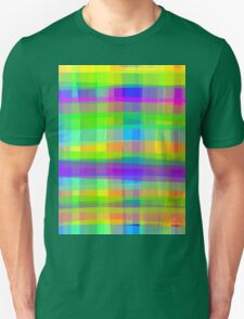 Psychedelic Fabric Texture Pattern T-Shirt