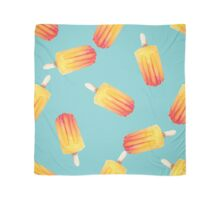watercolor icecream popsicle seamless pattern Scarf