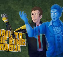 Tales from the Borderlands - Hail to the king, baby! by NikaLagann