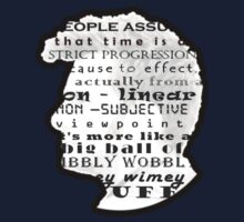 Doctor Who Quote -Timey Wimey  Kids Tee