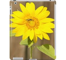 Bee on Sunflower iPad Case/Skin