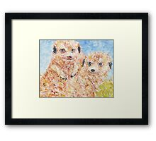 Mia Cats Framed Print
