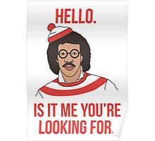 Lionel Richie - Where's Wally ?  Poster