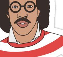 Lionel Richie - Where's Wally ?  Sticker