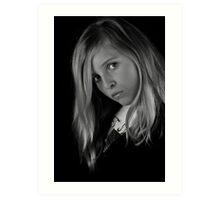 Hannah Sans Couleur Art Print
