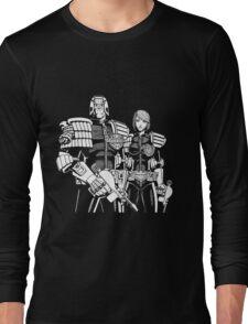 Judge Dredd & Judge Anderson  Long Sleeve T-Shirt