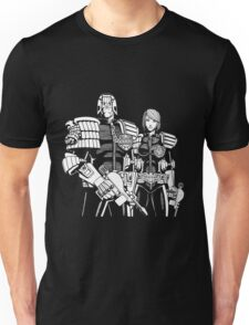 Judge Dredd & Judge Anderson  Unisex T-Shirt