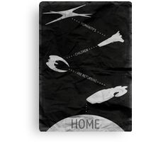 Humanity's Children Are Returning Home - Battlestar Galactica Art Canvas Print