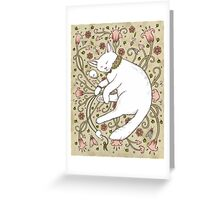 Mice and Moths Greeting Card