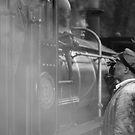 Railwaymen by Vincent Teh