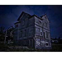 Abandoned Hotel Digital Photo Edited Photographic Print