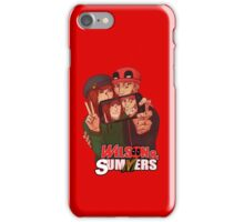 Wilson&Summers fake comic book cover (title-only) iPhone Case/Skin