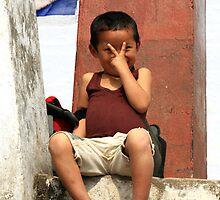 A kid. by debjyotinayak