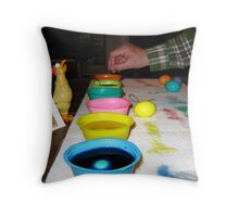 The Big Dipper At Work, Easter 2010 Throw Pillow