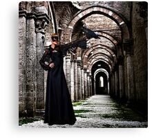 Mystical Raven Fine Art Print Canvas Print