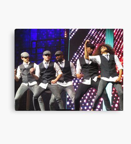Diversity Dance Group Canvas Print