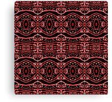 Tribal Ornate Geometric Pattern Canvas Print